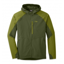 Men's Ferrosi Hooded Jacket by Outdoor Research in Chicago Il