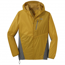 Men's Helium Hybrid Hooded Jacket by Outdoor Research in Concord Ca