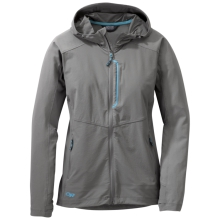 Women's Ferrosi Hooded Jacket by Outdoor Research in Nibley Ut