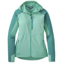Women's Ferrosi Hooded Jacket by Outdoor Research in Glenwood Springs CO