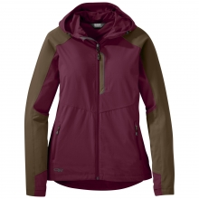 Women's Ferrosi Hooded Jacket by Outdoor Research in Revelstoke Bc