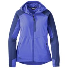 Women's Ferrosi Hooded Jacket by Outdoor Research in Conifer Co