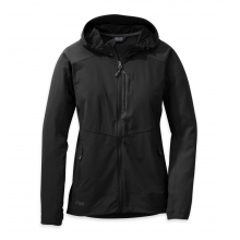 Women's Ferrosi Hooded Jacket by Outdoor Research in Santa Monica Ca