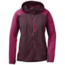 Women's Ferrosi Hooded Jacket by Outdoor Research in Vancouver Bc