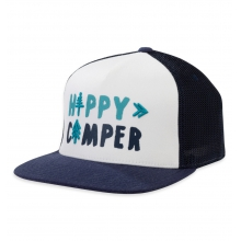 Women's Happy Camper Trucker Cap
