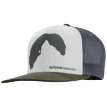 Negative Space Trucker Cap by Outdoor Research in Courtenay Bc