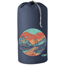 Graphic Stuff Sack 10L Alpenglow by Outdoor Research