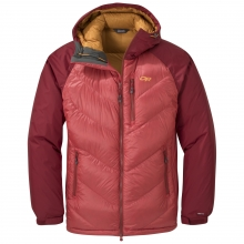 Men's Alpine Down Hooded Jacket by Outdoor Research in Glenwood Springs CO
