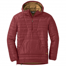 Men's Down Baja Pullover by Outdoor Research in Canmore Ab