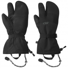 Men's Highcamp 3-Finger Gloves by Outdoor Research in Iowa City IA