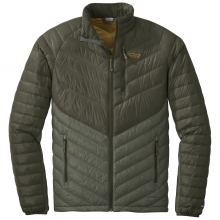 Men's Illuminate Down Jacket by Outdoor Research in Revelstoke Bc