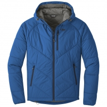 Men's Refuge Hooded Jacket by Outdoor Research in Conifer Co