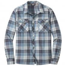 Men's Tangent II L/S Shirt by Outdoor Research in Red Deer Ab