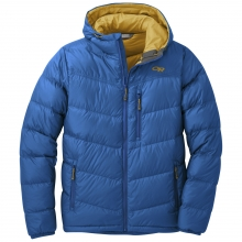 Men's Transcendent Down Hoody by Outdoor Research in Red Deer Ab