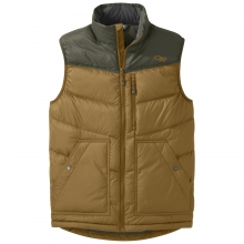 Men's Transcendent Down Vest by Outdoor Research in Edmonton Ab