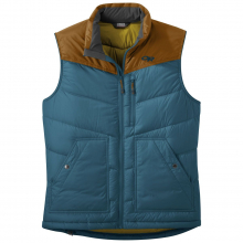 Men's Transcendent Down Vest by Outdoor Research in Nanaimo Bc