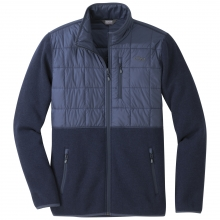 Men's Vashon Hybrid Full-Zip by Outdoor Research in Anchorage Ak