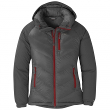Women's Alpine Down Hooded Jacket by Outdoor Research in Auburn Al