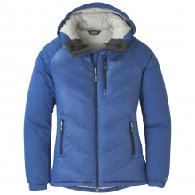 Women's Alpine Down Hooded Jacket by Outdoor Research in Fairbanks Ak