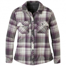 Women's Kalaloch Reversible Shirt Jac by Outdoor Research in Courtenay Bc