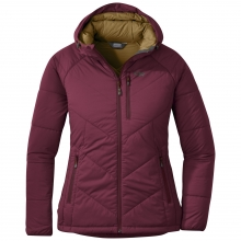Women's Refuge Hooded Jacket by Outdoor Research in Canmore Ab