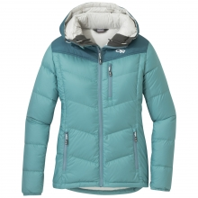Women's Transcendent Down Hoody by Outdoor Research in Revelstoke Bc