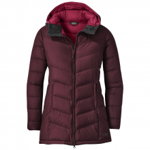 Women's Transcendent Down Parka by Outdoor Research in Redding Ca