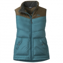 Women's Transcendent Down Vest by Outdoor Research in Medicine Hat Ab