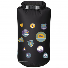 Graphic Dry Sack 20L Merit Badges by Outdoor Research