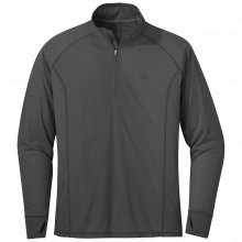 Men's Echo Quarter Zip by Outdoor Research in Squamish BC