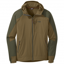Men's Ferrosi Hooded Jacket by Outdoor Research in Red Deer Ab