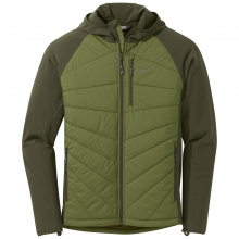 Men's Refuge Hybrid Hooded Jacket by Outdoor Research in Aspen Co