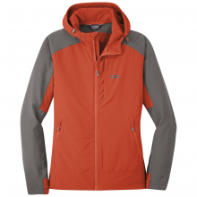 Women's Ferrosi Hooded Jacket by Outdoor Research in Durango Co