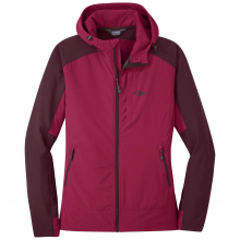 Women's Ferrosi Hooded Jacket by Outdoor Research in Blacksburg VA