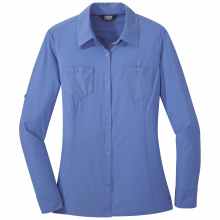 Women's Wayward L/S Shirt by Outdoor Research in Red Deer Ab