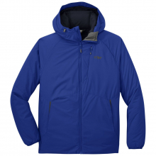 Men's Refuge Hooded Jacket by Outdoor Research in Red Deer Ab