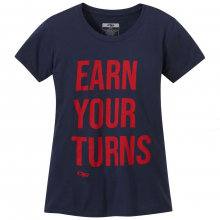 Women's Earn Your Turns S/S Tee
