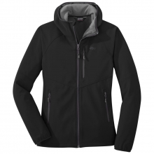 Women's Ferrosi Grid Hooded Jacket by Outdoor Research in Anchorage Ak