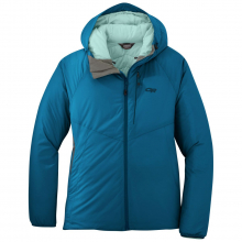 Women's Refuge Hooded Jacket by Outdoor Research in Red Deer Ab