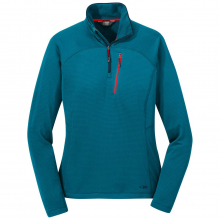 Women's Vigor Quarter Zip by Outdoor Research in Nelson Bc