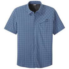 Men's Astroman S/S Sun Shirt by Outdoor Research in Red Deer Ab