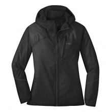 Women's Helium Rain Jacket by Outdoor Research in Squamish BC