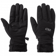 Women's Fuzzy Sensor Gloves by Outdoor Research in Alamosa CO
