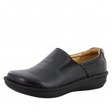 Oz Black Tumbled Leather by Alegria