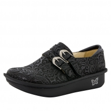 Alli Black Embossed Paisley by Alegria