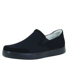 Men's Bender Black Suede by Alegria in Hope Ar