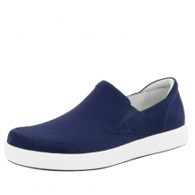 Men's Bender Navy Suede