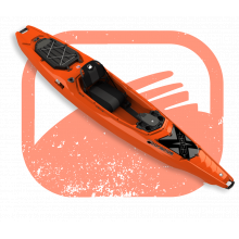 EX123 Sit-Inside Kayak by Bonafide Kayaks