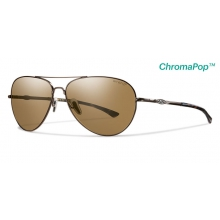 Audible Matte Brown ChromaPop+  Polarized Brown by Smith Optics