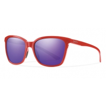 Colette Red Purple Sol-X Mirror by Smith Optics